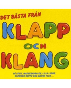 Det bästa från Klapp och Klang -  CD