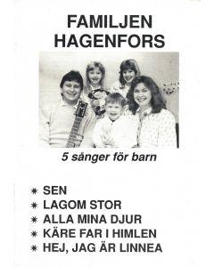 Familjen Hagenfors 5 sånger - Not