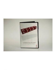 Alpha, DVD, I startblocken för Alpha