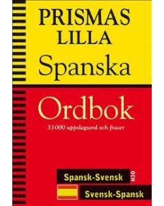 Prismas lilla spanska ordbok : Spansk-svensk/Svensk-spansk