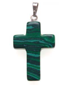 Kors sten - grön, 5-pack