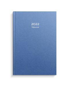 Tidjournal 2022 blå kartong, FSC Mix