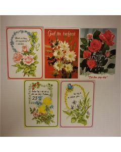 Dubbla kort med kuvert , 10-p