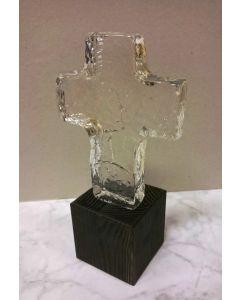 Glaskors med fot 11 cm