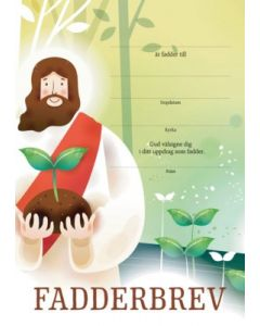Fadderbrev - Jesus 10st/fp
