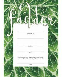 Fadderbrev - Löv