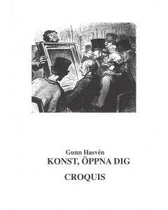 Konst, öppna dig Croquis