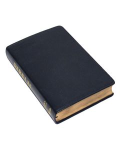 Folkbibeln 2015 Storformat svart cabraskinn