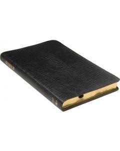 Folkbibeln 2015 Slimline svart konstskinn