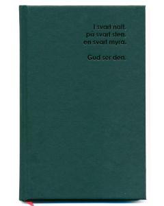 Oskriven bok-svart