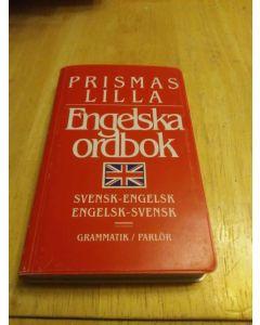 Prismas lilla engelska ordbok : Svensk-engelsk, engelsk-svensk : grammatik, parlör