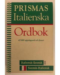 Prismas italienska ordbok : Italiensk-svensk, svensk-italiensk, grammatik : 47000 uppslagsord och fr