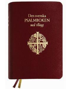 Den svenska psalmboken med tillägg, present, guld