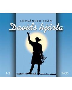 Lovånger från Davids hjärta 1-3 - 3CD