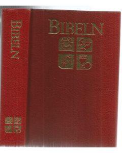 Bibel 1981 Röd Hård