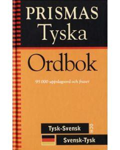Prismas tyska ordbok : tysk-svensk, svensk-tysk, grammatik : 95000 uppslagsord och fraser