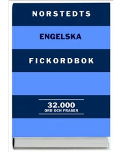 Norstedts engelska fickordbok : engelsk-svensk, svensk-engelsk : 32000 ord och fraser