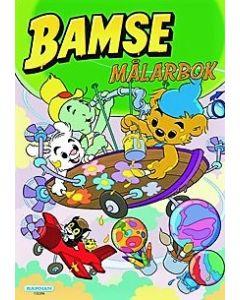 Bamse Målarbok