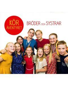 Bröder och systrar Köräventyret - CD