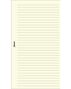 Filofax Pocket, Anteckningsblock, linjerat beige (100)