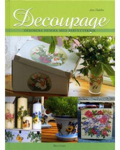 Decoupage : dekorera hemma med servetteknik