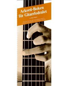 Ackordboken för gitarrfodralet