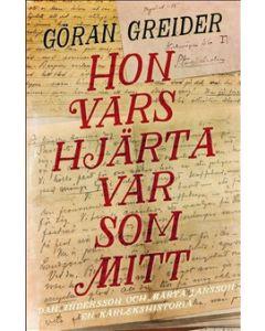 Hon vars hjärta var som mitt : Dan Andersson och Märta Larsson - en kärlekshistoria