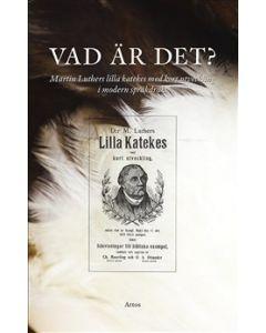Vad är det? Martin Luthers lilla katekes med kort utveckling i modern språkdräkt