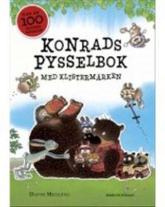 Konrads pysselbok med klistermärken