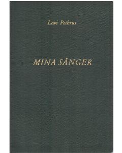 Mina Sånger - Lewi Pethrus - Not