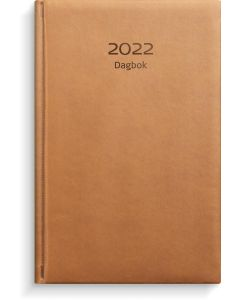 Dagbok konstläder cognac-1029