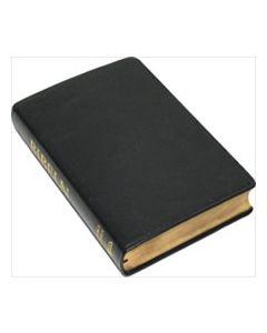 Folkbibeln 2015 Storformat Äkta skinn svart