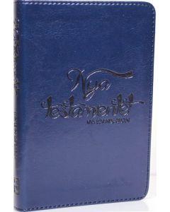 NT Nya levande Bibeln pocket blå