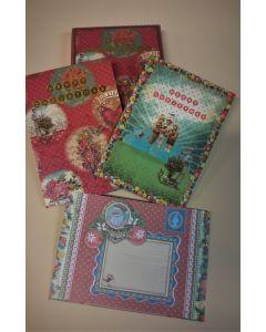 8 Dubbla Julkort med 8 kuvert