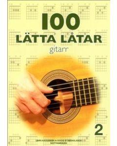 100 lätta låtar gitarr 2