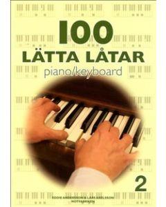 100 lätta låtar piano keyboard 2