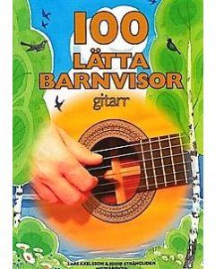 100 lätta barnvisor gitarr