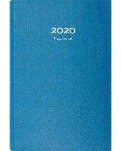 Tidjournal 2020 blå kartong, FSC Mix