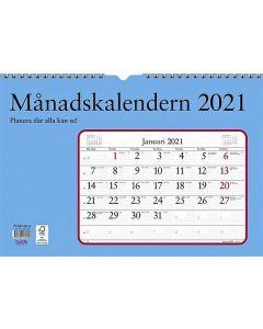Månadskalendern, FSC Mix 2021