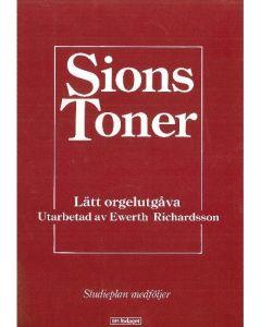 Sions Toner lätt orgelutgåva