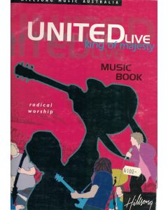 United live - Hillsong - Music book - Not