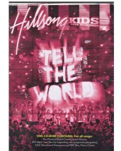 Hillsong Kids - Tell the world - Music book cd-rom -