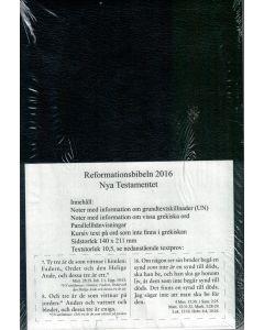Reformationsbibeln Nya Testamentet svart