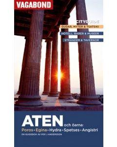Aten och öarna : Poros, Egina, Hydra, Spetses, Angistri : en guidebok