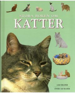 Stora boken om Katter - 1000 bilder : över 300 raser