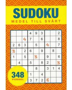 Sudoku : medel till svår - 348 pussel
