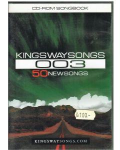 Kingswaysongs 003 -50 Newsongs - cd-rom songbook