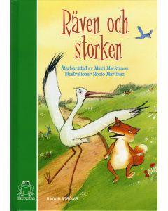 Räven och Storken : baserad på Aisopos berättelse