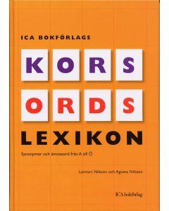 ICA Bokförlags korsordslexikon : synonymer och ämnesord från A till Ö