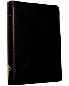 Bibeln svart skinn